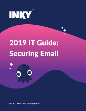 2019 IT Guide for Securing Email Cover Image